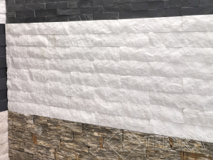 Kamenný obklad, mramor White Thassos 7 cm