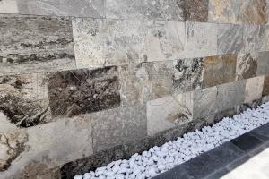 Kamenný obklad Oros, přírodní kámen s fosíliemi