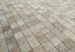 Travertinova mozaika GEA 2,5 x 2,5