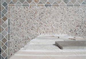 Mramorová mozaika oblázky mix