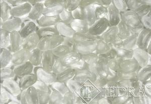 Skleněné oblázky 1-3 cm bílé