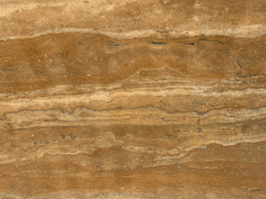 Travertinová dlažba - obklad, Travertin zlatý 40x40x2 lesk
