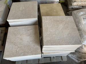 Mramorová dlažba - obklad Jantar, 40x40x2 opalovaný
