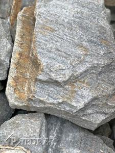 Kamenná kůra plochá ŠEDÁ