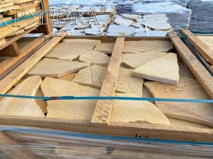 Kamenná dlažba / obklad 20-50 cm LEMON,šlapáky do betonu