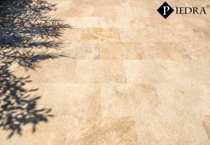 Travertin Classic, tmelený, matný,  dlažba / obklad 61x40,6 cm