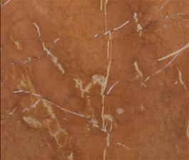 ČERVENÝ SVĚTLÝ přírodní mramor dlažba - obklad