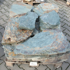 Břidlice, dekorativní kámen do zahrady, zídkovina